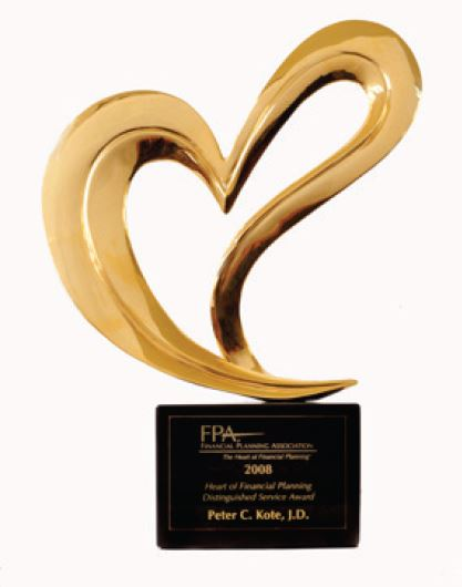 Financial Planning Association award
